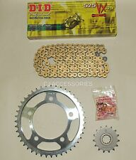 DID Gold X-Ring Chain And JT Sprockets Kit For Honda CB600 F Hornet 98-06