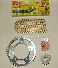 DID x-anneau d'or chaîne et JT Kit pignons pour Honda CB600 F HORNET 98-06