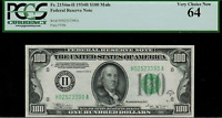 1934B $100 Federal Reserve Note - St. Louis - FR. 2154-H Mule - Graded PCGS 64