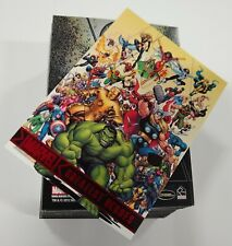 2012 Marvel Greatest Heroes Trading Cards (Rittenhouse) Complete Base Set 1-81 !