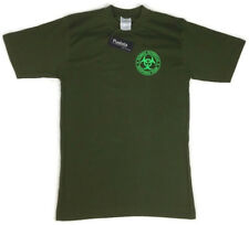Zombie Outbreak Response Team TShirt ZORT Army Green Cotton Padula Uniform Small