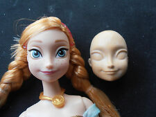 Silicone Mould ANNA's FACE FROM FROZEN Cake Decorating Fondant / fimo mould