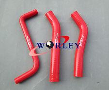 RED Honda TRX450R TRX450 2006 2007 2008 2009 silicone radiator hose