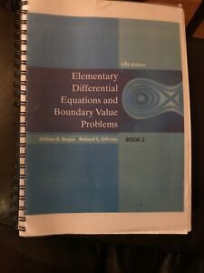 10Ed Elementary Differential Equations Boundary Value Prob Boyce  9780470458310