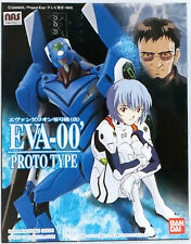 EVANGELION : EVA-00 PROTO TYPE BLUE MODEL KIT MADE BY BAN DAI IN 1996