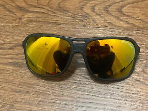 Vintage Bolle 528 Black Gold Mirror Spectra Acrylex Sunglasses Read!!!