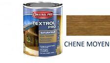 TEXTROL PRO 5L SATURATEUR CHENE MOYEN ASPECT HUILE BOIS TENDRE EXTERIEUR BARDAGE