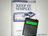 The Final Cartridge III + Handbuch - Commodore C64 / C128 - Top-Zustand SD2IEC