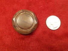 #46 of 50, LARGE OLD VTG ANTIQUE? BAKELITE BUTTON, FAUX WOOD STYLE, SEE PICS