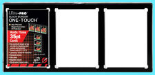 ULTRA PRO BLACK FRAME 3 CARD 35PT ONE TOUCH MAGNETIC HOLDER Triple Wall Display