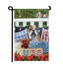 July 4th Garden Flag Summer Decor Independence Day red white blue