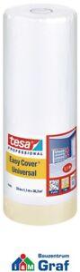 Tesa 4368 Premium Pittori Mascheramento con Copertura, 33 M x 1,1 = 36,3 ² /#