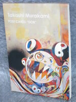 TAKASHI MURAKAMI Postcard Book DOB 2008 w/Sticker Illustration Art Brand New