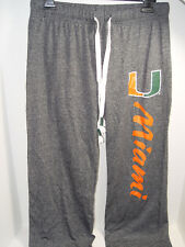 0e944d9453baa New Miami Hurricanes Ladies Lounge Pants NCAA Size Small Authentic