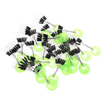 100pcs silicone Space Bean Fishing Bait Accessori Fishing Tackle Carp JG