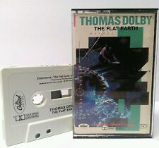 Original 1984 Thomas Dolby The Flat Earth synth-pop cassette tape ~ Hyperactive!