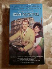 Rome Adventure, Troy Donahue, Suzanne Pleshette, VHS