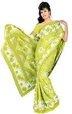 mousseline Bollywood Carnaval SARI ORIENT INDE fo329