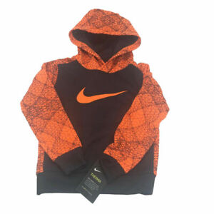 New Nike Little Boys Toddler Size 4 Dri-FIT Pullover Hoodie MSRP $45.00