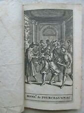 MOLIERE : MONSIEUR DE POURCEAUGNAC, comédie. Amsterdam, 1693.