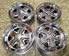 "16"" Genuine Porsche 911 Fuchs Factory OEM Rims Wheels 6&7 x16"" CHROME Rims"