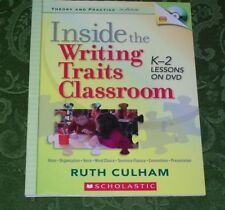 Inside the Writing Traits Classroom K-2 Lessons on DVD Culham Writing K, 1, 2