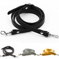 US PU Leather Shoulder Bag Replacement Strap Crossbody Adjustable Handbag Handle