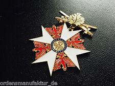 Preußen Roter Adlerorden Großkreuz Eichenlaub Schwerter am Ring Replik