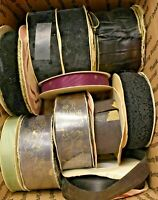 Vintage WFR Fabric Ribbon Lot 2 Pounds of Fabric Ribbon Moire Satin 18