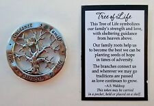 bb Tree of Life POCKET TOKEN CHARM family roots love strength love crystal ganz