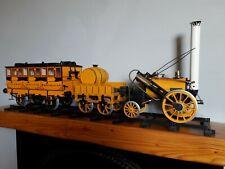 "Hornby 3 1/2"" gauge Rocket Steam Engine and Coach."