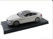 BMW 650i Gran Coupe F06 Scale Model Diecast 1:18 Mineral White 80432218741