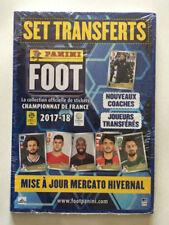 SET TRANSFERT PANINI FOOT 2017 2018 MISE A JOUR MERCATO HIVERNAL NEUF