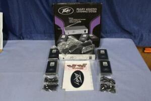 Peavey Assisted Listening System Transmitter & 4 Receivers with earbuds 300' use