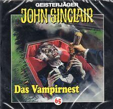 JOHN SINCLAIR - Teil 65 - Das Vampirnest - AUDIO CD - NEU OVP