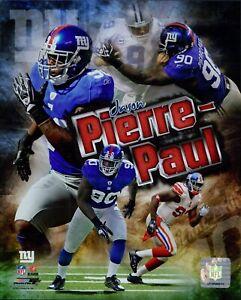 Jason Pierre-Paul New York Giants NFL Licensed Unsigned Glossy 8x10 Photo B