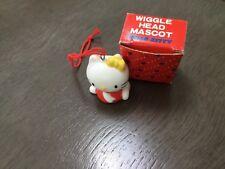 VINTAGE rare 1976 SANRIO Hello Kitty wiggle head red mascot New