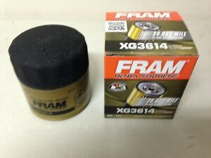 Fram Ultra Synthetic XG3614 Oil Filter fits TG3614 PH3614 10-2835 M1102A 51348XP