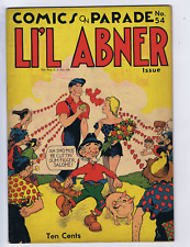 Comic on Parade LI'L Abner issue #54 United Features 1946