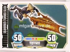 Quarren Turbo Sled  #116 - Force Attax Serie 3