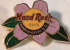 Hard Rock Cafe WASHINGTON DC 1990s Cherry Blossom PIN - HRC Logo Catalog #82!