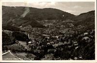 Ottenhöfen Schwarzwald Postkarte um 1940/50 Panoramablick mit Wald Felder Wiesen
