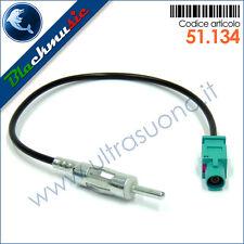 Adattatore antenna autoradio FAKRA-DIN per Chevrolet Spark (M300 dal 2012)