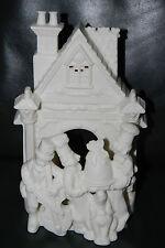 Partylite Christmas Porcelain Tea Light Village Carolers Bakers Cake Dog Retired