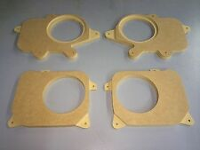 Lexus GS300 front and rear MDF Speaker baffles, size 6 1/2 fits years 1998-2005