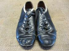 Vintage Childs Leather Baseball Cleats > Old Antique Equipment Size 3 Shoes 8834