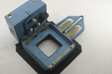 Beseler 23C Lower Negative and Lens Stage - Drying Bellows - Blue - USED J18