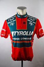 Denti Top Team Austria Tyrolia cycling jersey maglia Rad Trikot 4 BW 52cm D-06