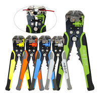 Self-Adjusting Insulation Wire Stripper/Cutter/Crimper Terminal Crimping Tool