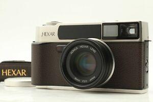 *MINT W/STRAP * KONICA HEXAR Rhodium 35mm Rangefinder Film Camera w/35mm F/2